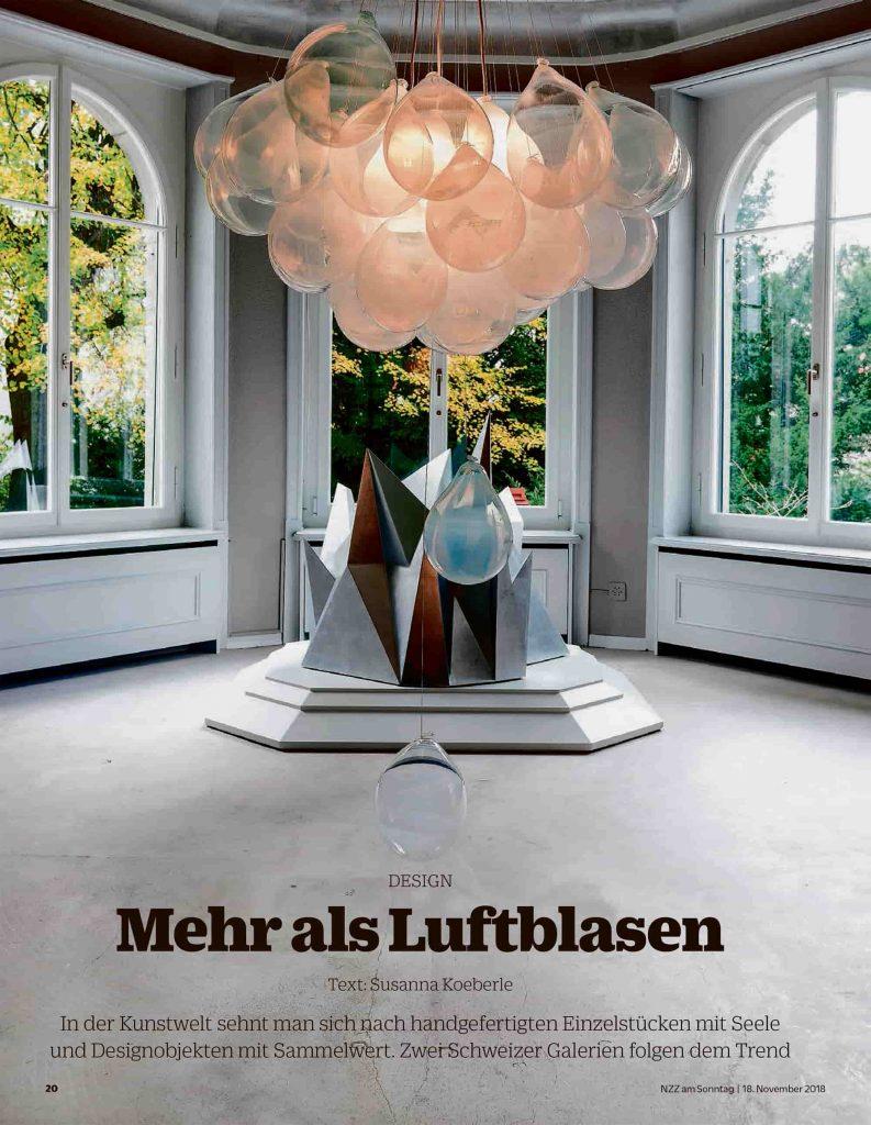 Cover of NZZaS Stil Designgalerien