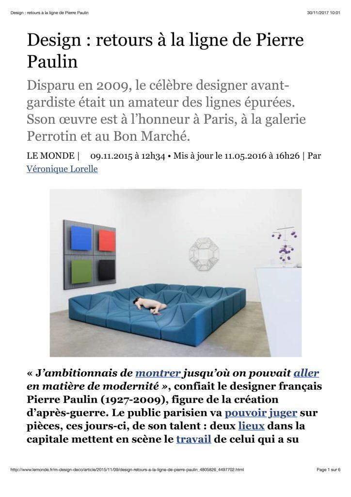 Cover of Retour à la ligne