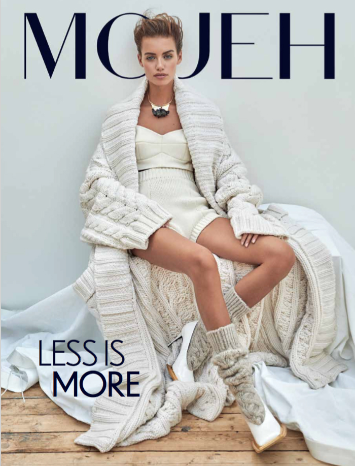 Cover of Mojeh Magazine