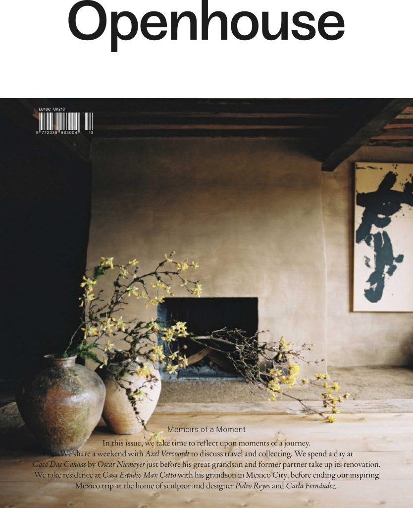Cover of Openhouse magazine