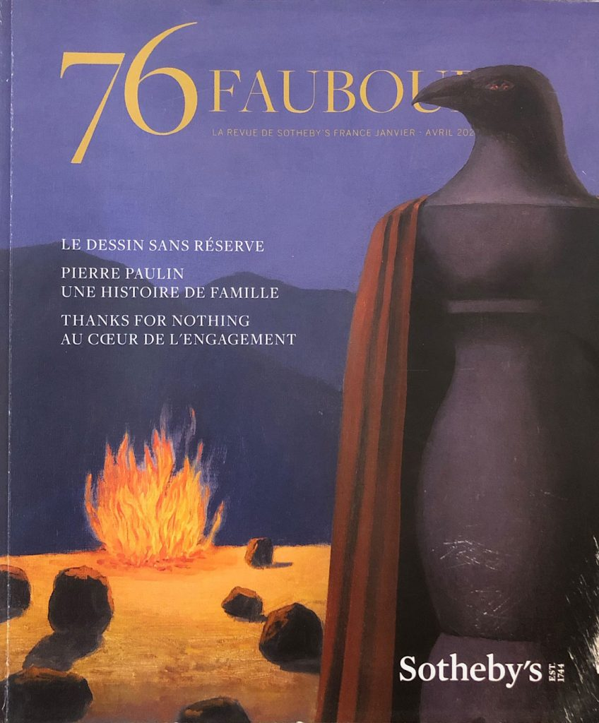 Cover of Sotheby's - 76 Faubourg